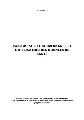 Rapport sur la gouvernance et l'utilisation des données de santé
